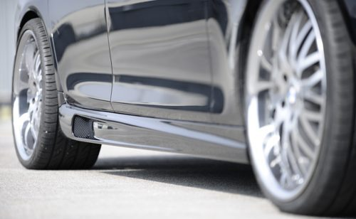 Pair of Side Skirts for the BMW 5 Series F10 [Image 2]