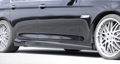 Pair of Side Skirts for the BMW 5 Series F10